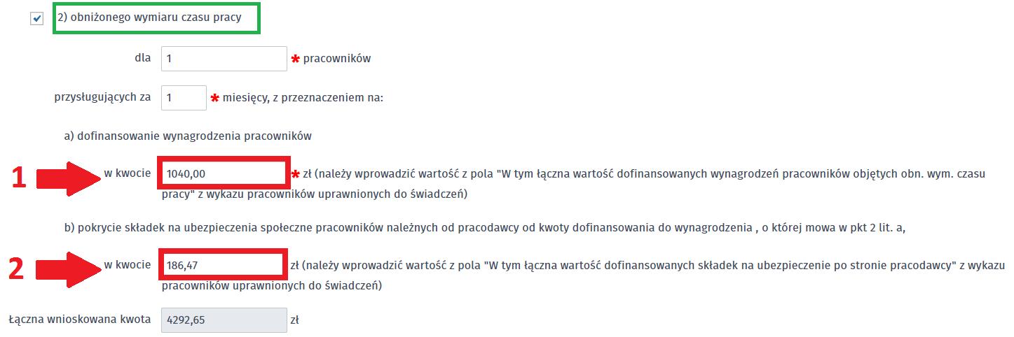 VIA-WOMP sekcja treść wniosku