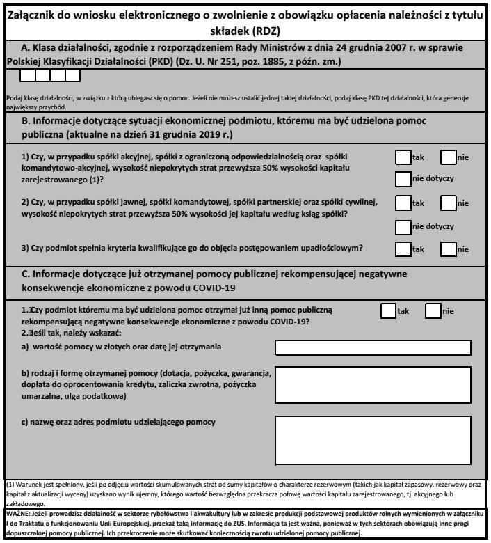 załącznik do wniosku rdz pdf